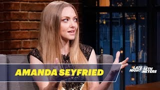 Amanda Seyfried Plans to Spin Her Dog's Hair into Yarn