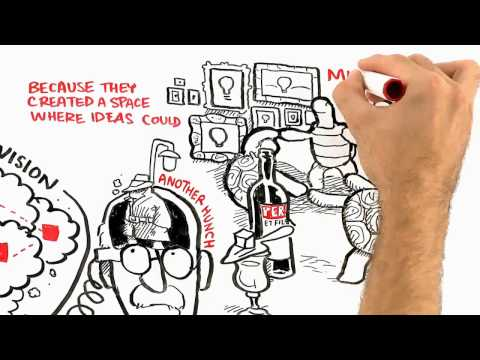 Video image: Where do good ideas come from?