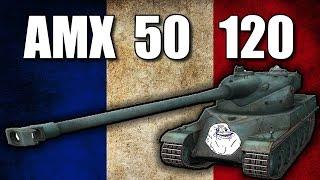 AMX 50 120. Прощай унылый учитель.