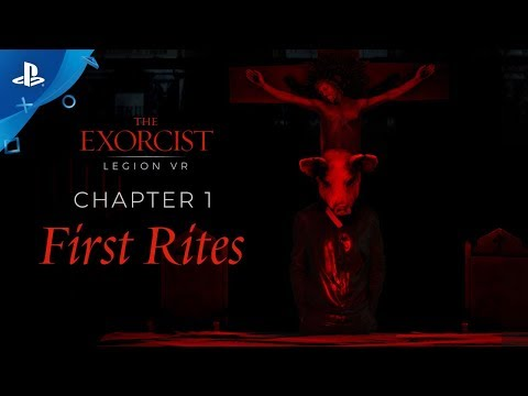"""The Exorcist: Legion VR - Chapter 1 """"First Rites"""" Gameplay Trailer 