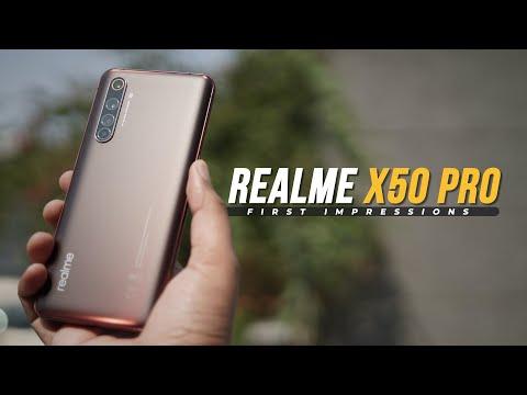 Realme X50 Pro 5G First Impressions!