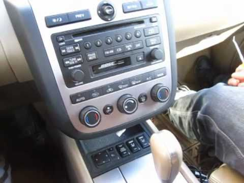GTA Car Kits - Nissan Murano 2003-2008 Install Of IPhone, Ipod And AUX Adapter For Factory Stereo