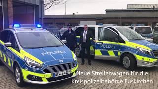 Neue Streifenwagen für die Polizei im Kreis Euskirchen