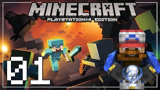 MINECRAFT PS4 | ROAD TO PLATINO #01