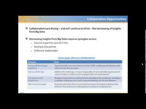 Big Data Opportunities for Pharmaceutical Companies Webinar