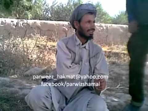 Afghan funny man singing