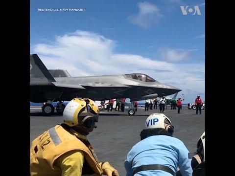 Mỹ thử nghiệm chiến đấu cơ F-35 phiên bản mới (VOA)