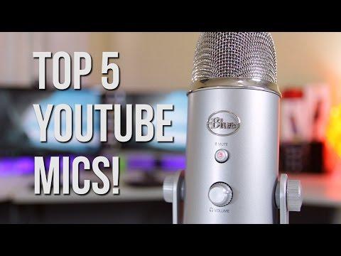 Top 5 BEST Budget Microphones! ($15-$100) | Best YouTube Mics