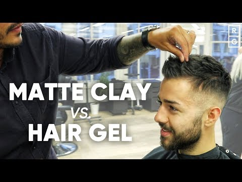 Using Matte Clay Vs Hair Gel For A Natural Look