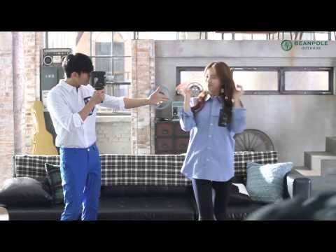 Kim Soo Hyun & Suzy | 2014 Beanpole Outdoor Windbreaker making film