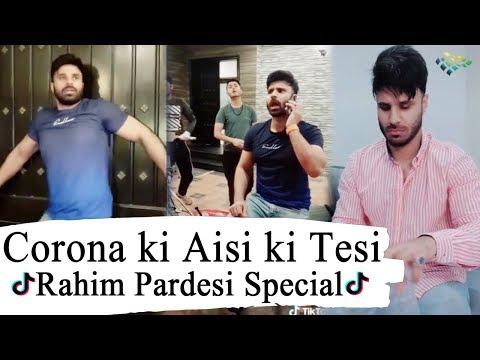 Korona Ki Aisi Ki Tesi | Rahim Pardesi Latest TikTok Video | Desi Tv Entertainment