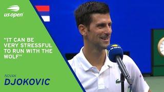 Novak Djokovic On-Court Interview