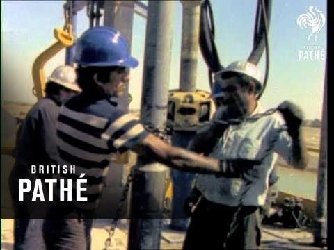 Oil Wells Of Iran (1970-1979)