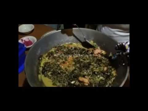How to Cook Laing (Taro Leaves with Coconut Milk) Bicolano Dish