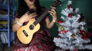 We wish you a merry Christmas and a happy new year -ukulele cover
