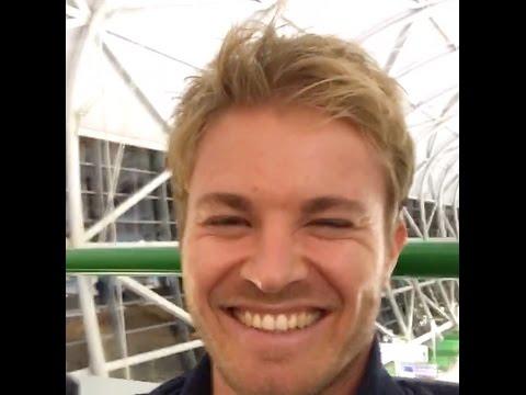 Nico Rosberg: Live Video P1 Japan GP