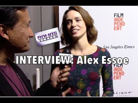 My LAFF2017 Red Carpet  with Alex Essoe  'MIDNIGHTERS'