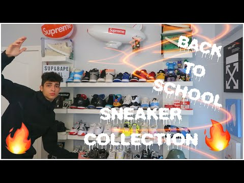 BACK TO SCHOOL SNEAKER COLLECTION🤯🔥‼️(Senior Year)