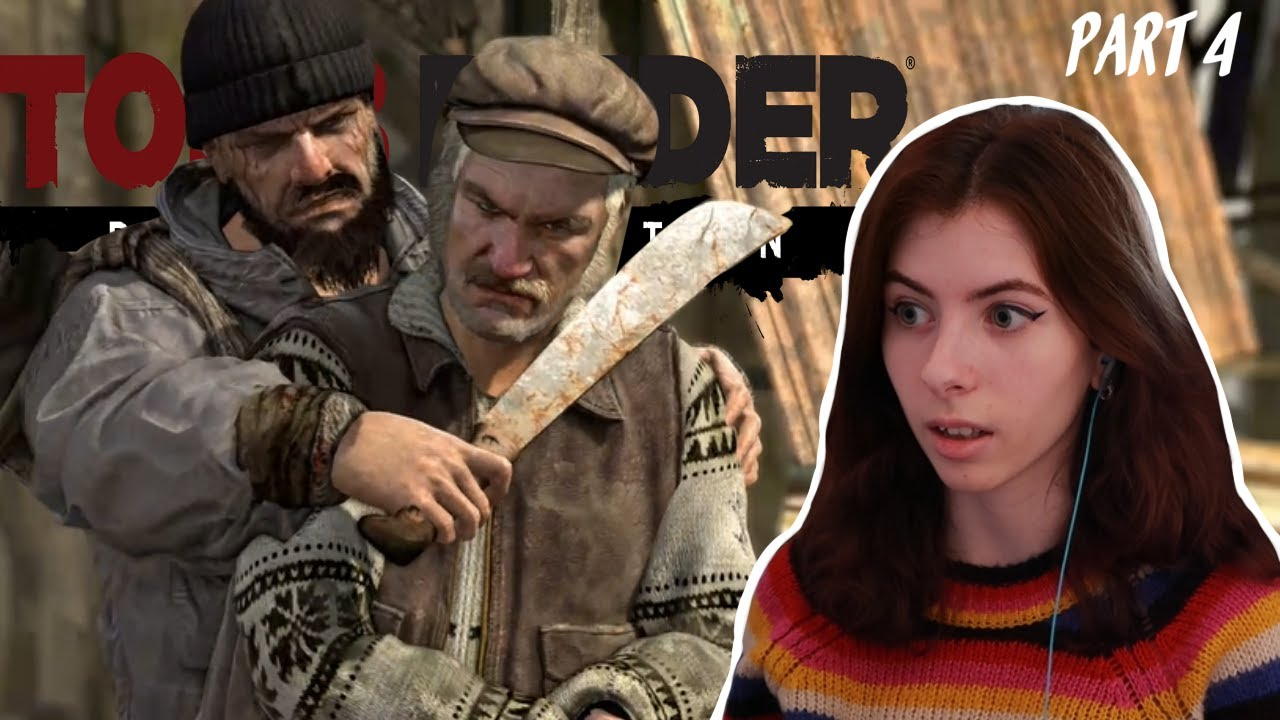 Tomb Raider Gameplay walkthrough part 4 - YouTube
