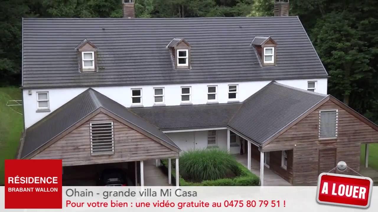 Lou e ohain louer villa mi casa youtube - Villa a louer casa do dean ...