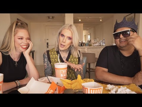 Whataburger MUKBANG! with Jeffree Star & Rich Lux