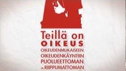 (FIN) ECHR - Euroopan ihmisoikeussopimus (Finnish Version)