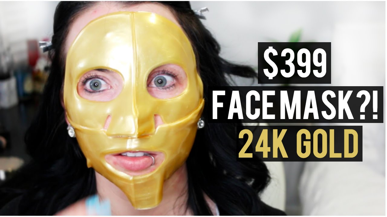 $399 GOLD FACE MASK! FIRST IMPRESSION