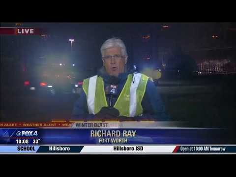 Wintry Blast in Fort Worth fox 4 news