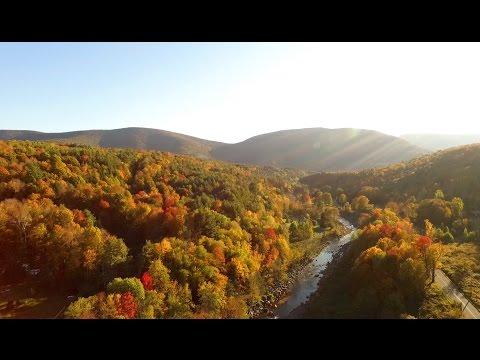 Sneak Peek Leaf Peep! Catskills Fall Foliage Video - Adventure in the Catskills!