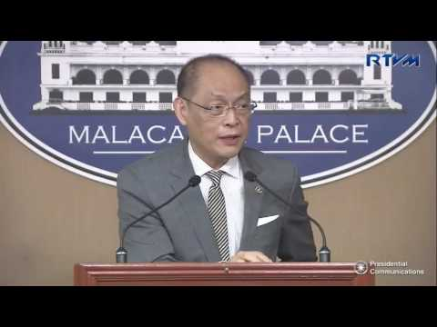Press Briefing by Philippine Budget and Management Secretary