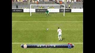 Pes 2013 penaltılar - Galatasaray vs. Trabzonspor
