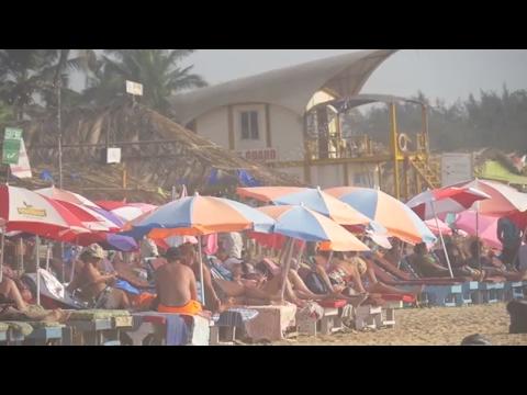 Scandalous Beach! Goa India VLOG 013