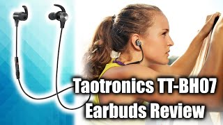 Taotronics TT BH07 Wireless Bluetooth Headphones Review