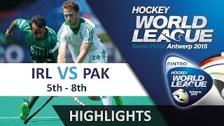 Ireland v Pakistan Match Highlights - Antwerp Men