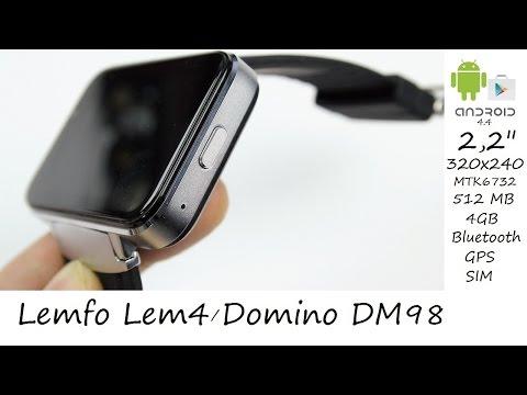 """2,2"""" Android China Watch mit vollwertigem Android im Test - Deutsch"""