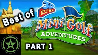 Best of AH - 3D Ultra MiniGolf - Part 1 | Achievement Hunter Best Moments