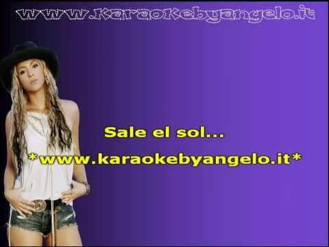 Skakira   Sale el sol Karaoke