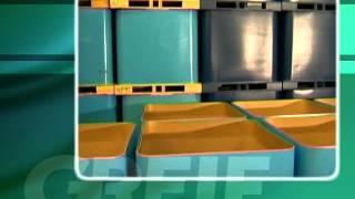 битум - фасовка в кловертейнер (пр-во Грайф)(Кловертейнер (Clovertainer®) — среднетоннажный контейнер из многослойного картона на деревянном поддоне. Облас..., 2013-01-16T10:01:38.000Z)