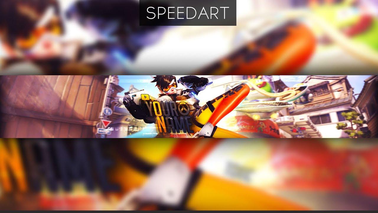 youtube channel art youtube templates speedart mc banner