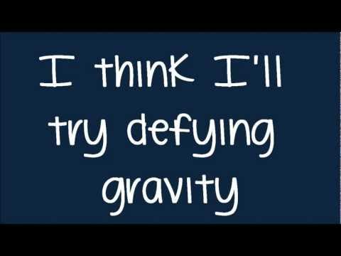 Glee - Defying Gravity (Kurt Solo) (Lyrics) HD