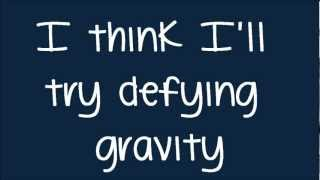Glee - Defying Gravity (Kurt Solo) (Lyrics) HD