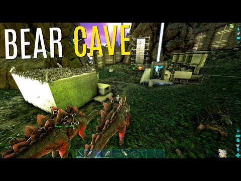 WIPING THE BEAR CAVE BASE - Official PVP - ARK Survival