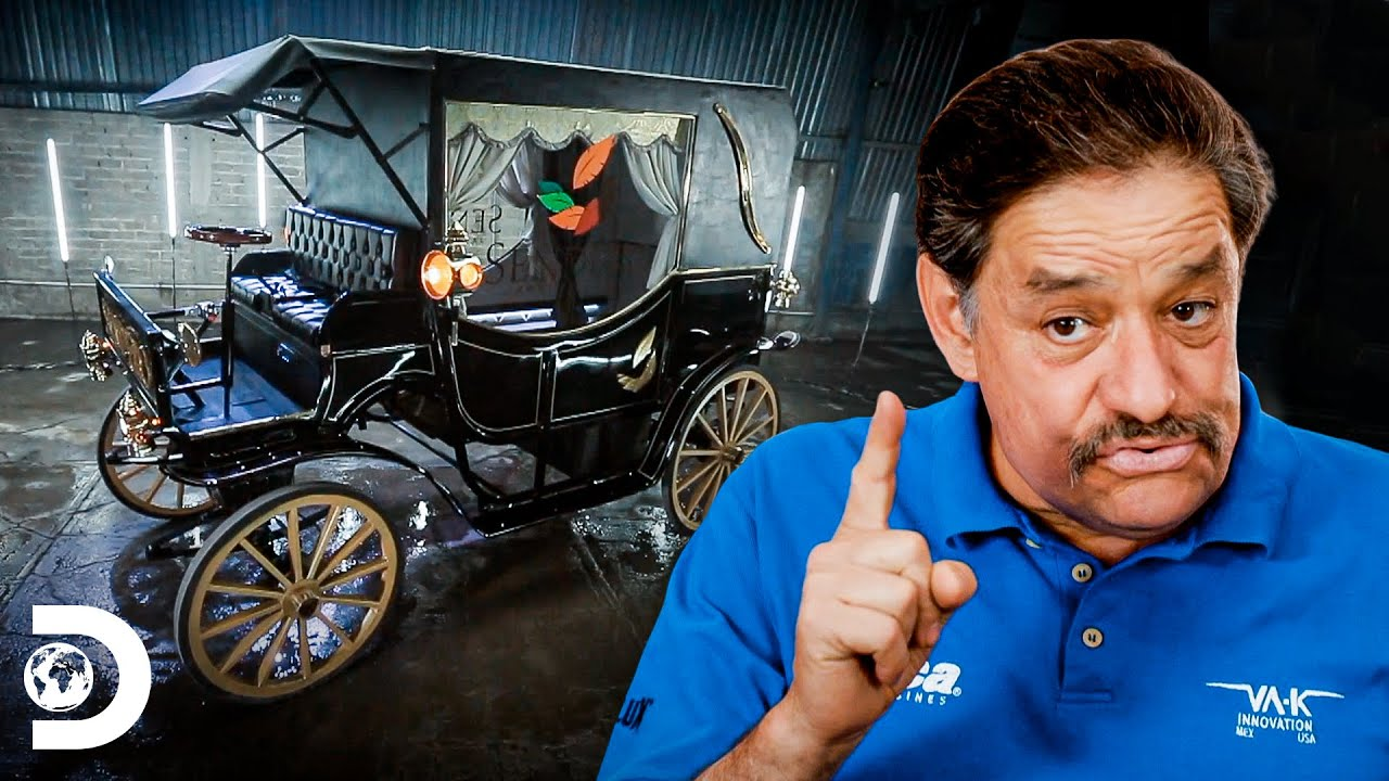 ¡Antiguo pero innovador! Hacen un carruaje fúnebre eléctrico | Mexicánicos | Discovery Latinoamérica