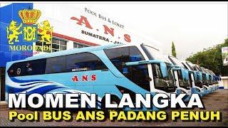 Download Mp3 Momen Langka Pool Bus Ans Padang Penuh, Semua Bus Berkumpul