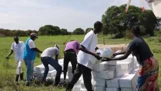Food Drops in South Sudan