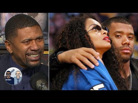 Russell Wilson announcing record-breaking deal in bed was a boss move - Jalen Rose | Jalen & Jacoby