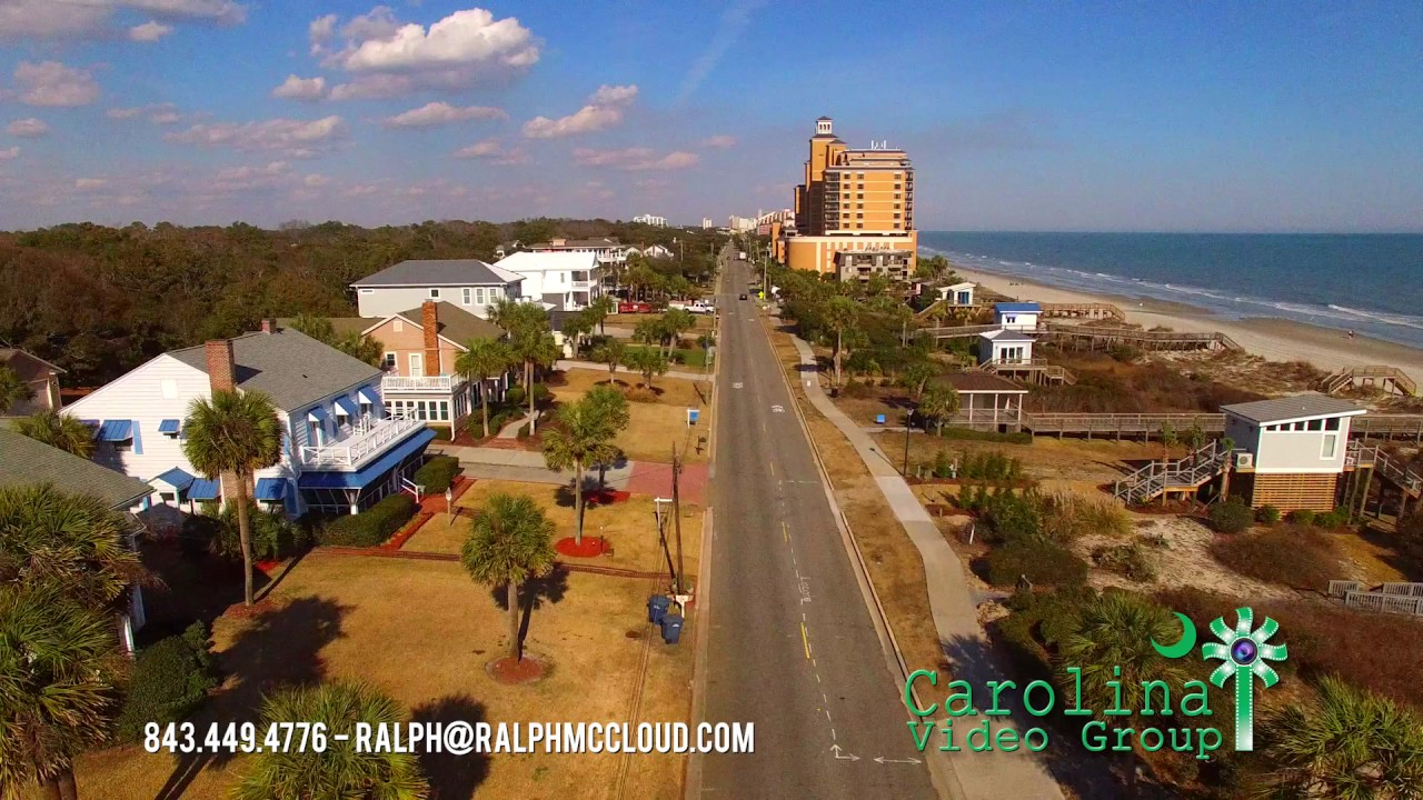 Myrtle Beach, SC Aerial Drone footage - YouTube
