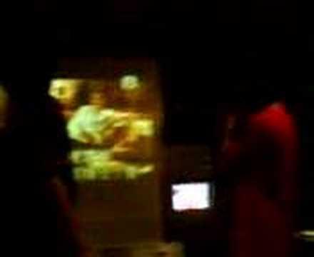 Lion + Scarecrow at Karaoke