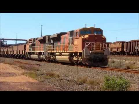 BHP Rail Operations, Port Hedland, August 25th, 2014