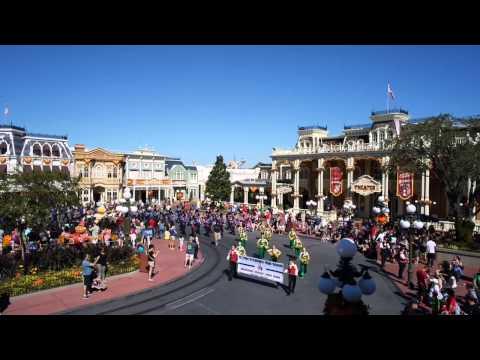 St Pius X Catholic High School Marching Band: Disney Parade 2014